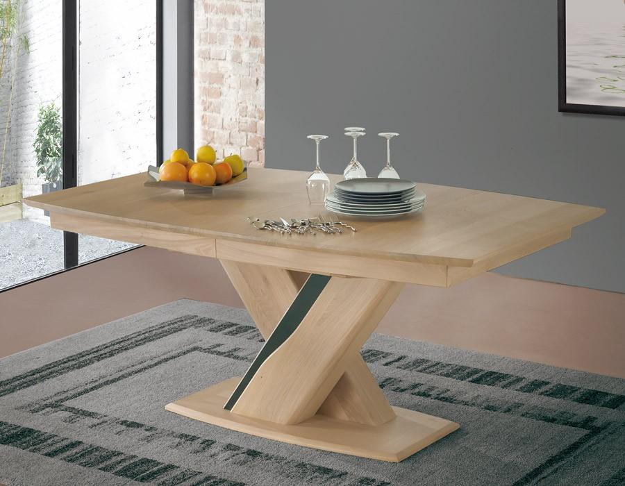table tonneau plateau bois meubles rigaud. Black Bedroom Furniture Sets. Home Design Ideas