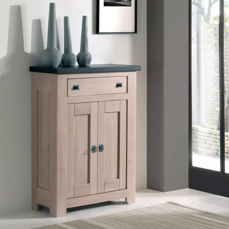 Meuble d 39 appui 2 portes whitney meubles rigaud for Meuble 2 portes