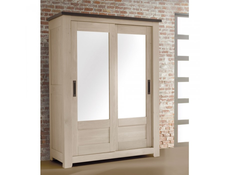 armoire 2 portes petit mod le meubles rigaud. Black Bedroom Furniture Sets. Home Design Ideas