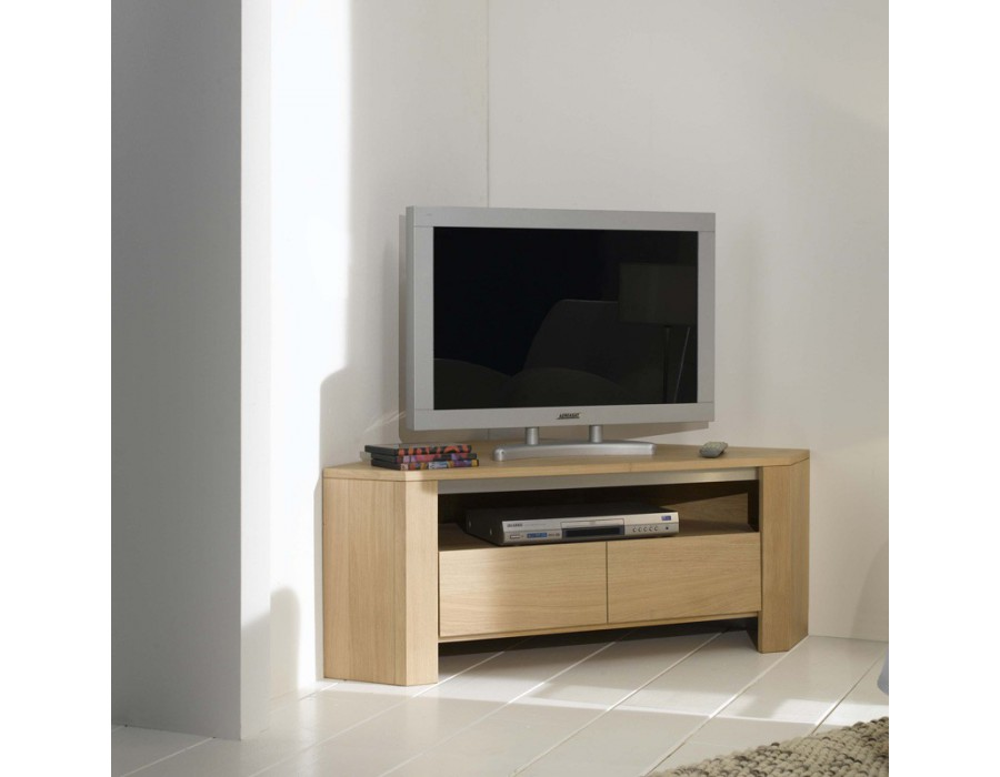 Meuble d angle tele  meuble d angle tele sur EnPerdreSonLapin -> Meuble Tv DAngle Blanc Conforama