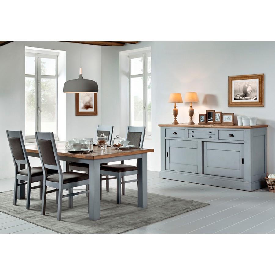 bahut romance 2 portes coulissantes meubles rigaud. Black Bedroom Furniture Sets. Home Design Ideas