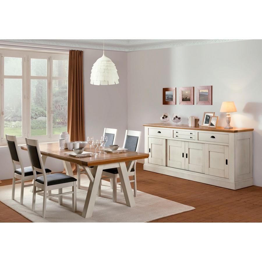 bahut romance 4 portes coulissantes meubles rigaud. Black Bedroom Furniture Sets. Home Design Ideas