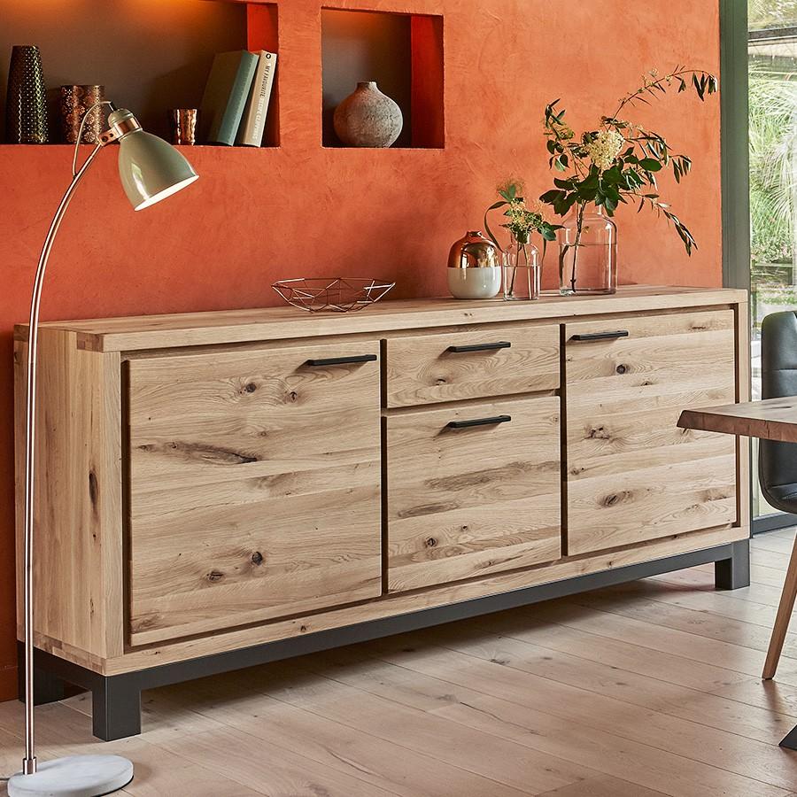 enfilade 3 portes forest en ch ne 100 massif. Black Bedroom Furniture Sets. Home Design Ideas
