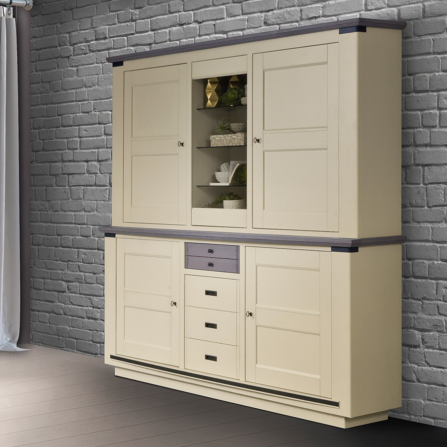 vaisselier magellan 3 portes 100 ch ne massif fabrication. Black Bedroom Furniture Sets. Home Design Ideas