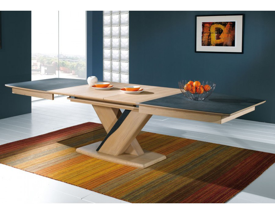 table tonneau plateau c ramique meubles rigaud. Black Bedroom Furniture Sets. Home Design Ideas
