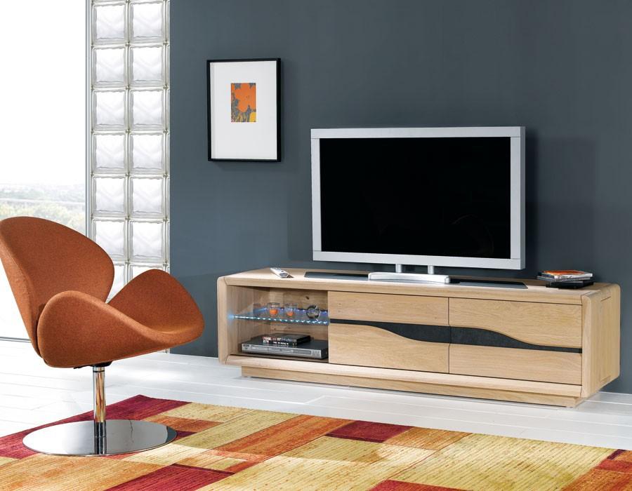 Grand meuble tv ceram meubles rigaud for Meuble grande tv