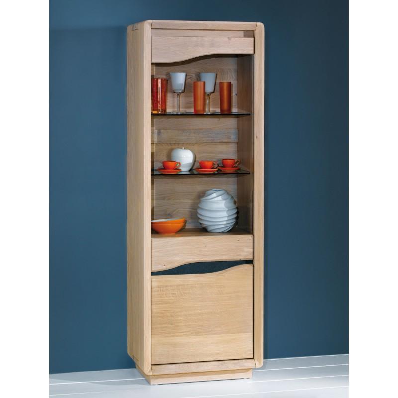 colonne 1 porte vitr e meubles rigaud. Black Bedroom Furniture Sets. Home Design Ideas
