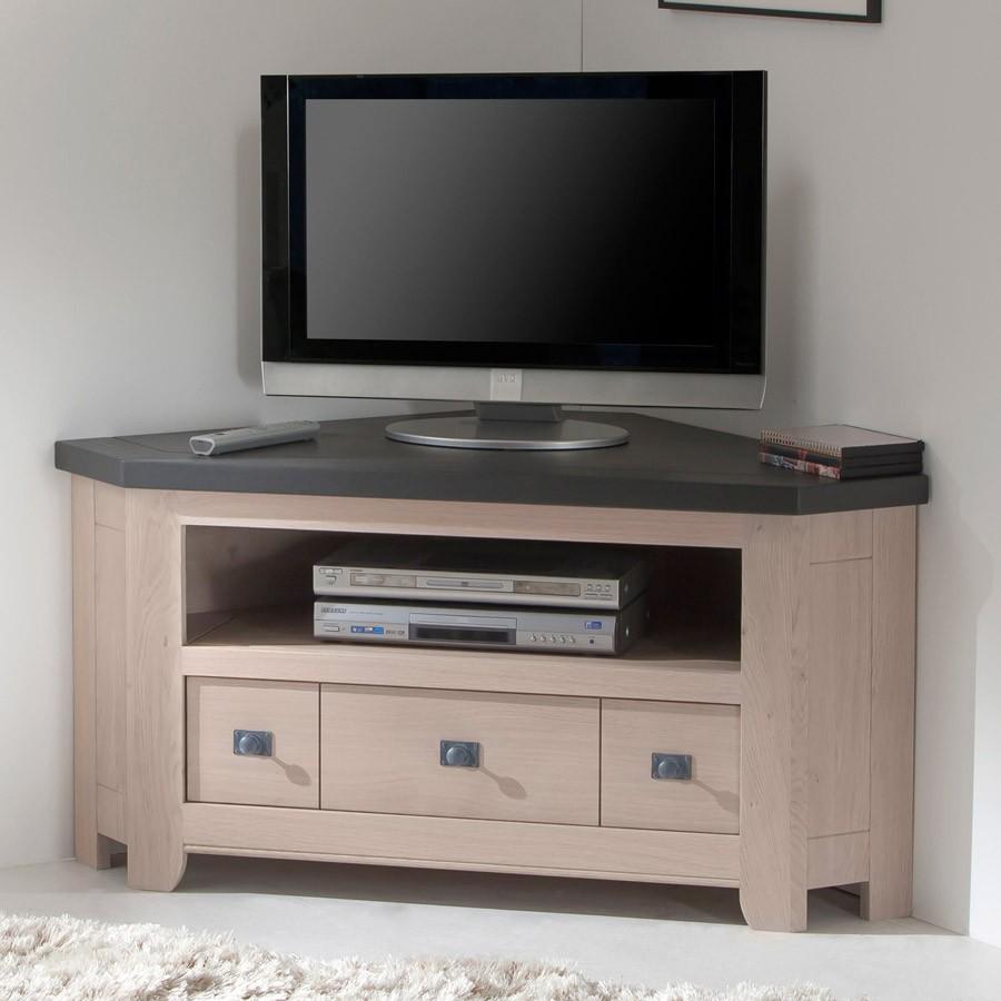Meuble Haut D Angle Pour Tv meuble tv d'angle whitney