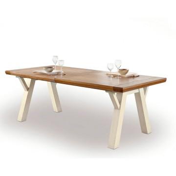 Table Romance 175cm pieds tréteaux