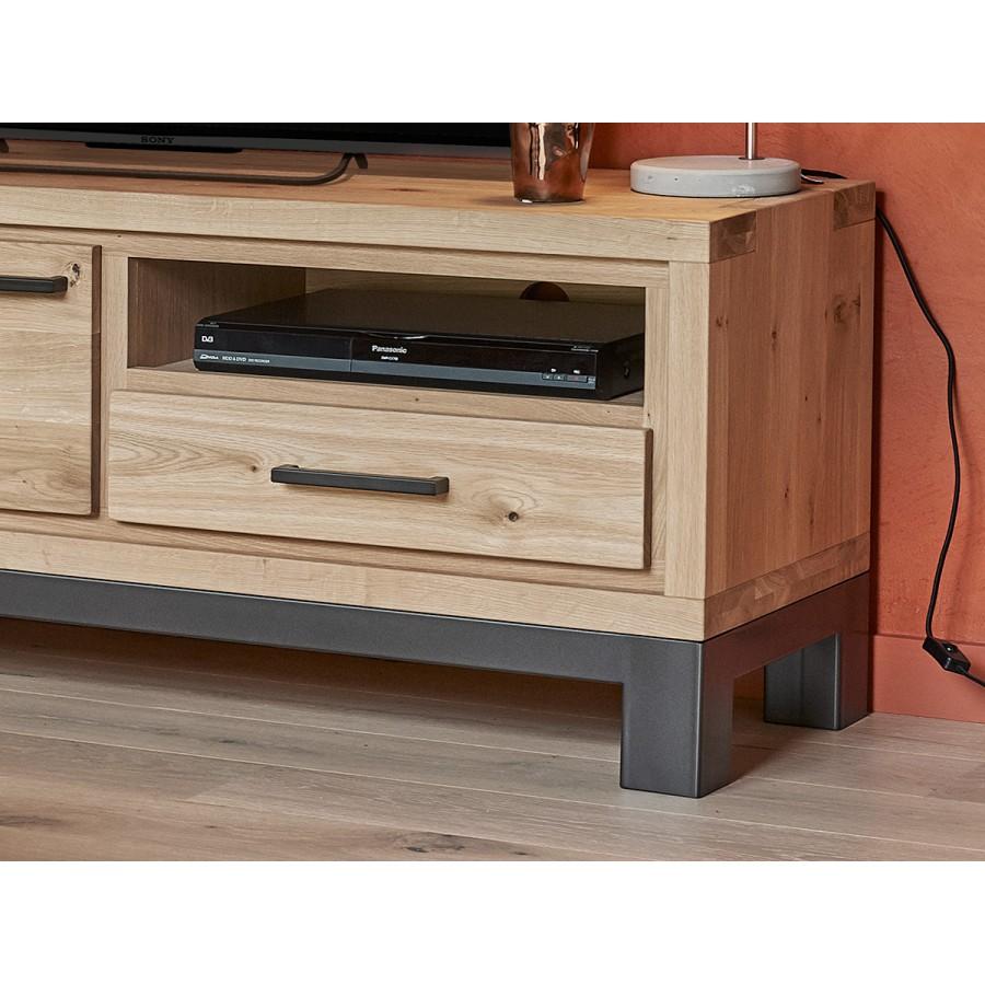 petit meuble tv 1 porte forest en ch ne 100 massif. Black Bedroom Furniture Sets. Home Design Ideas