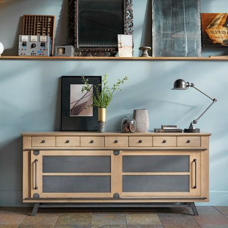 Petite Enfilade Artcopi Passerelle, un meuble de charme de style Atelier 32454b51d1bd