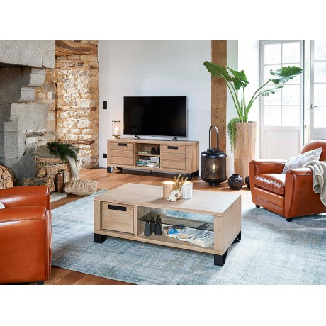 Grand meuble TV Hudson