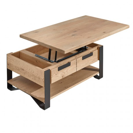 Table Dinette Hudson Meubles Basse Rigaud EIWHD29Y