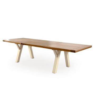 Table Romance 210cm pieds tréteaux