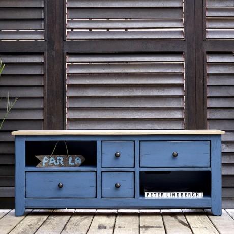 Meuble TV 4 tiroirs ZOE