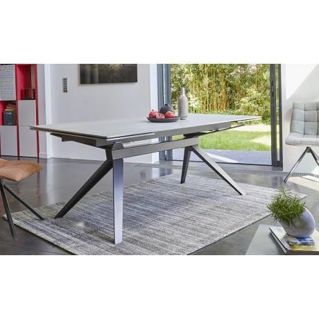 Table rectangulaire LUNA céramique