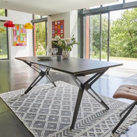 Table rectangulaire NOVA céramique