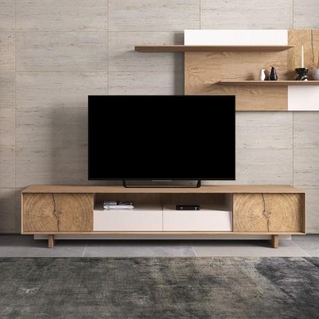 Meuble TV bas Naura 260 cm