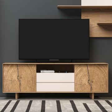 Meuble TV haut Naura 195 cm