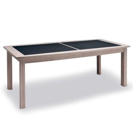 Table Magellan 4 pieds plateau céramique