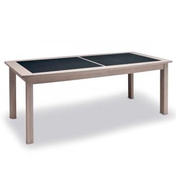 Table de séjour 200 cm plateau céramique Belem