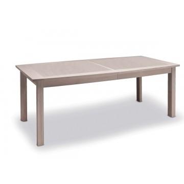 Table de séjour 170 cm plateau bois Belem