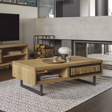 Table basse 1 tiroir 1 niche Prima