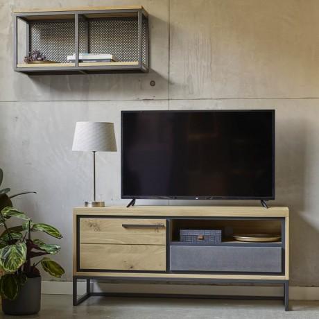 Meuble TV 1 porte Brooks 123 cm