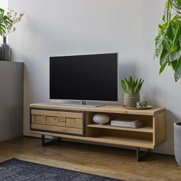 Meuble TV 1 porte 1 niche Prima 170 cm