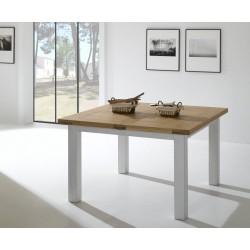 Table de séjour carrée 125 cm Whitney